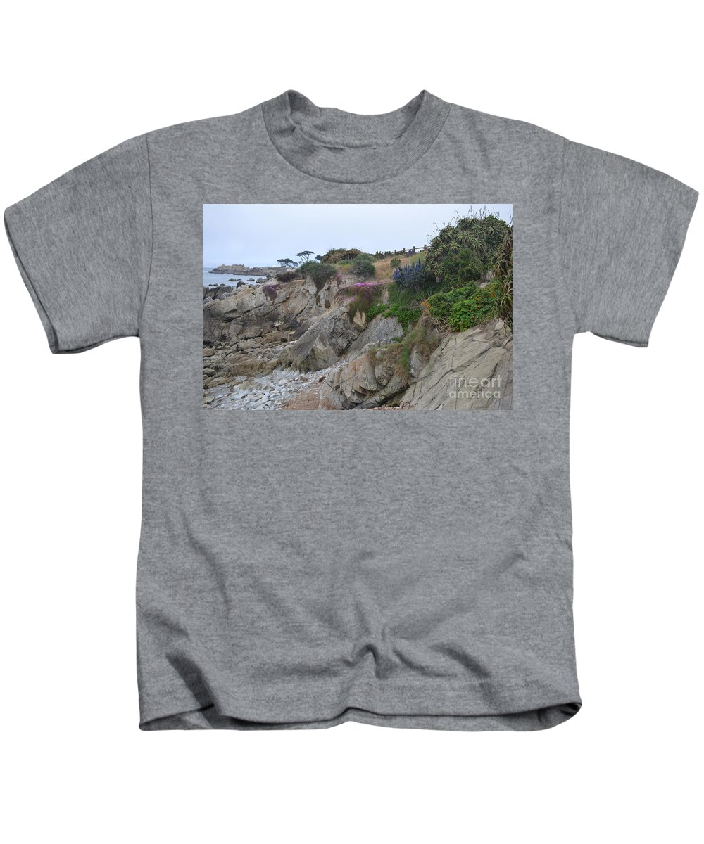 Ocean Kids T-Shirt featuring the photograph Low Tide by Mary Rogers