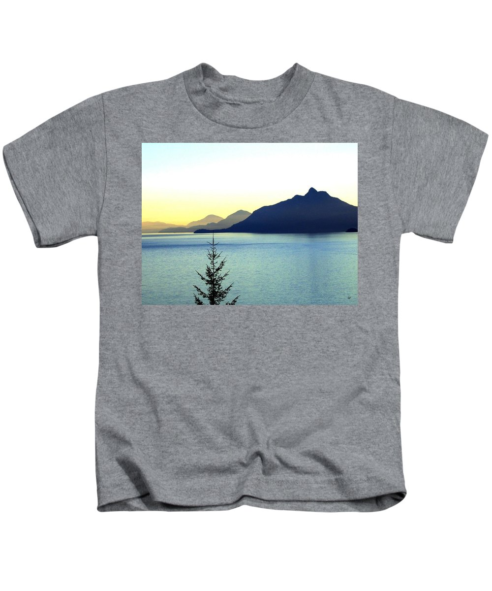 Vancouver Kids T-Shirt featuring the photograph Magnificent Howe Sound by Will Borden