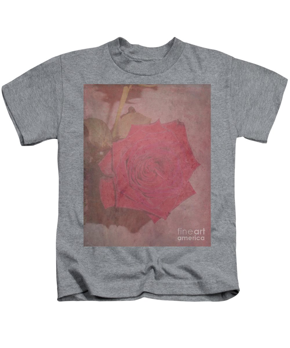 Rose Kids T-Shirt featuring the photograph Make An Impression by Adri Turner