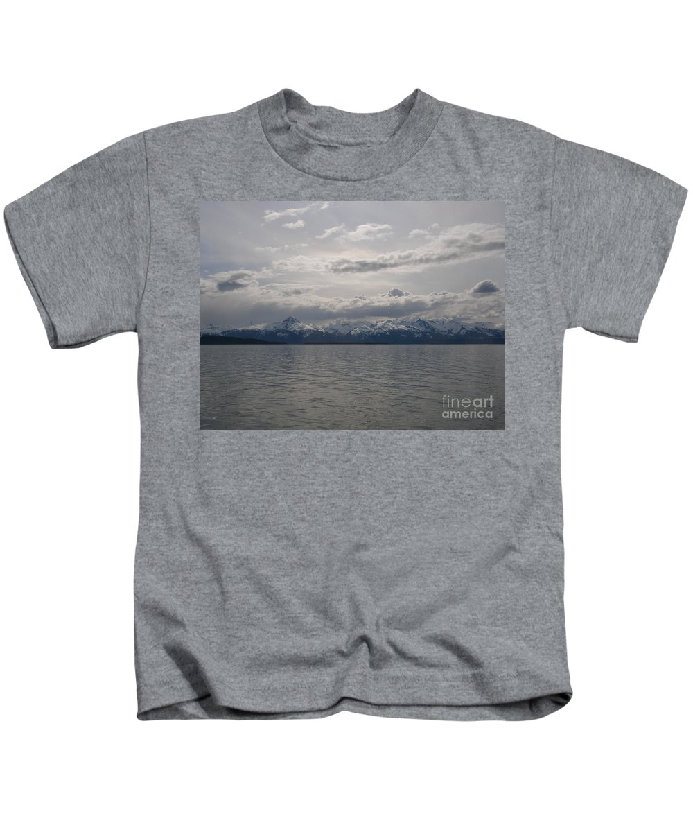 May Kids T-Shirt featuring the photograph May In Alaska by Bev Conover