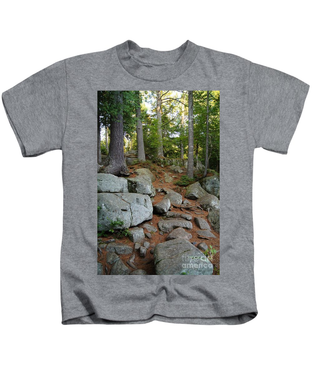 Forest Kids T-Shirt featuring the photograph Must Go Up by Jeffery L Bowers