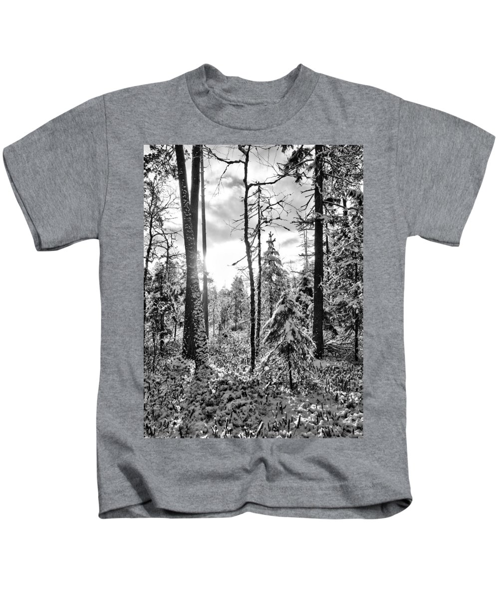 Kovero Kids T-Shirt featuring the photograph Noon by Jouko Lehto