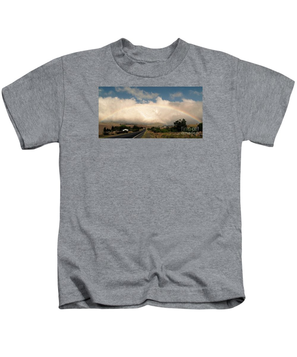 Fine Art Photography Kids T-Shirt featuring the photograph On The Road To Hilo by Patricia Griffin Brett