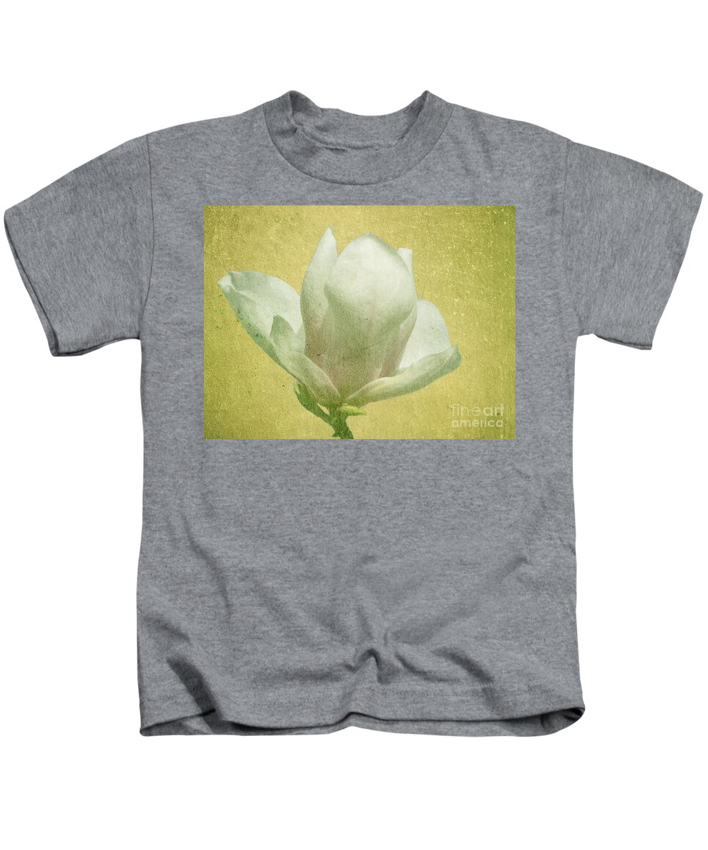 Bloom Kids T-Shirt featuring the photograph Outer Magnolia by Jeffrey Kolker