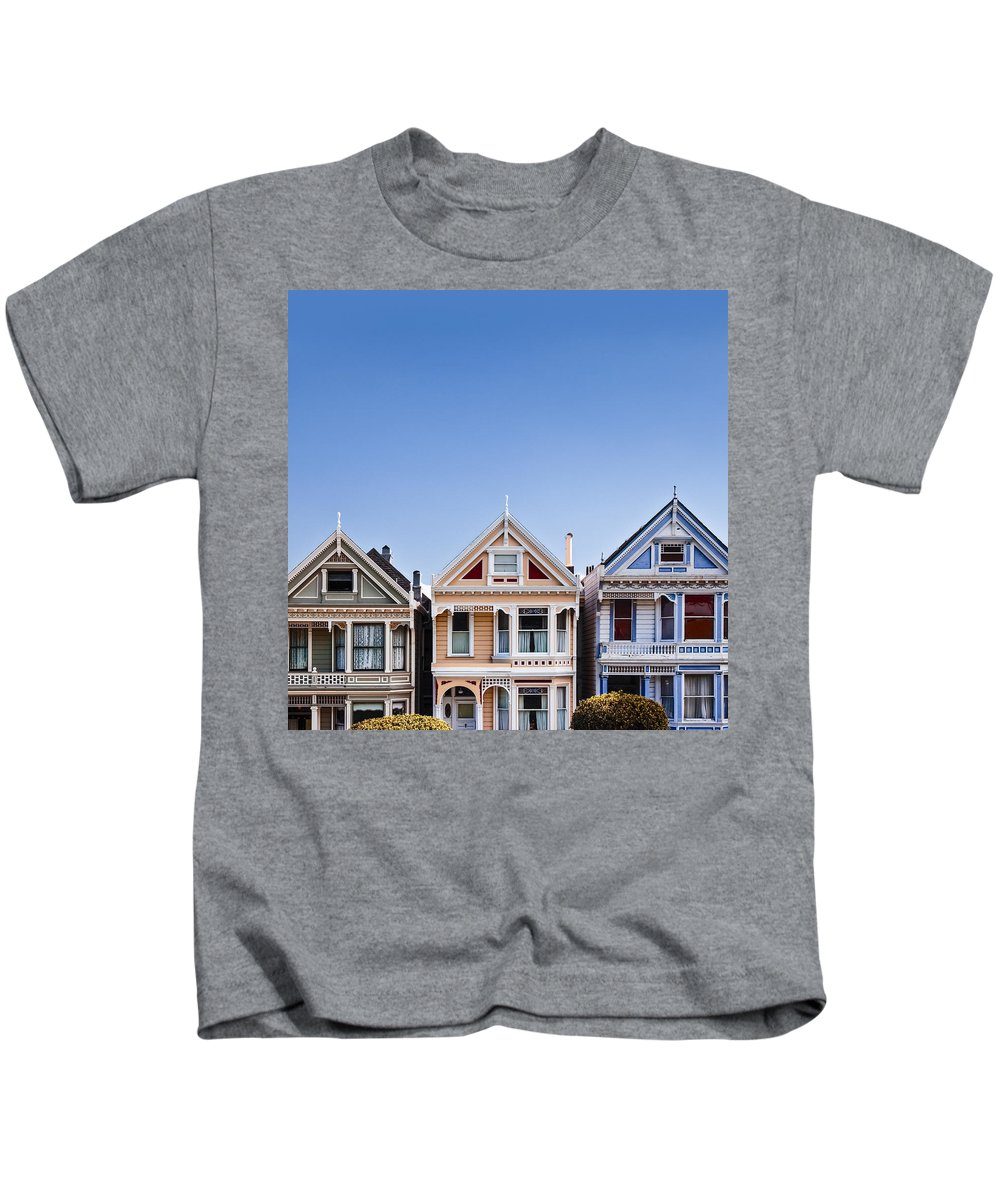 Painted Ladies Kids T-Shirt featuring the photograph Painted Ladies by Dave Bowman