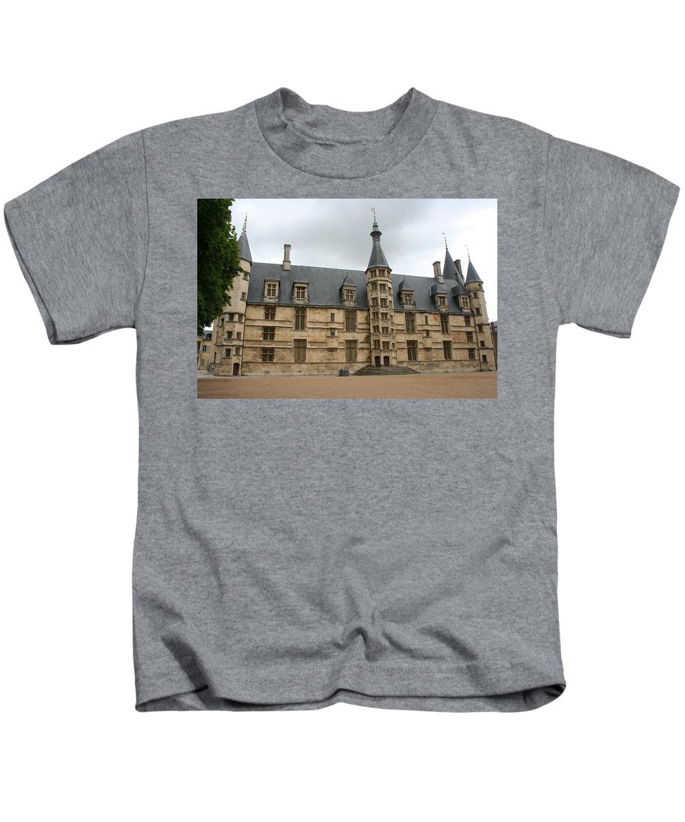 Palace Kids T-Shirt featuring the photograph Palace Ducal Nevers by Christiane Schulze Art And Photography
