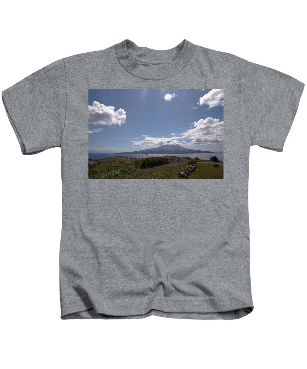 Ocean Kids T-Shirt featuring the photograph Pico A Boo by M Bernardo