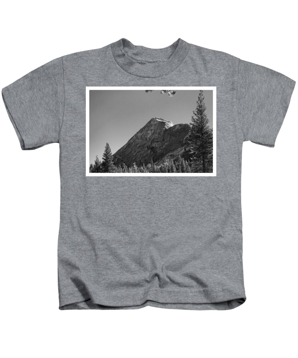 Pothole Kids T-Shirt featuring the photograph Pothole Dome In Yosemite by Gene Norris