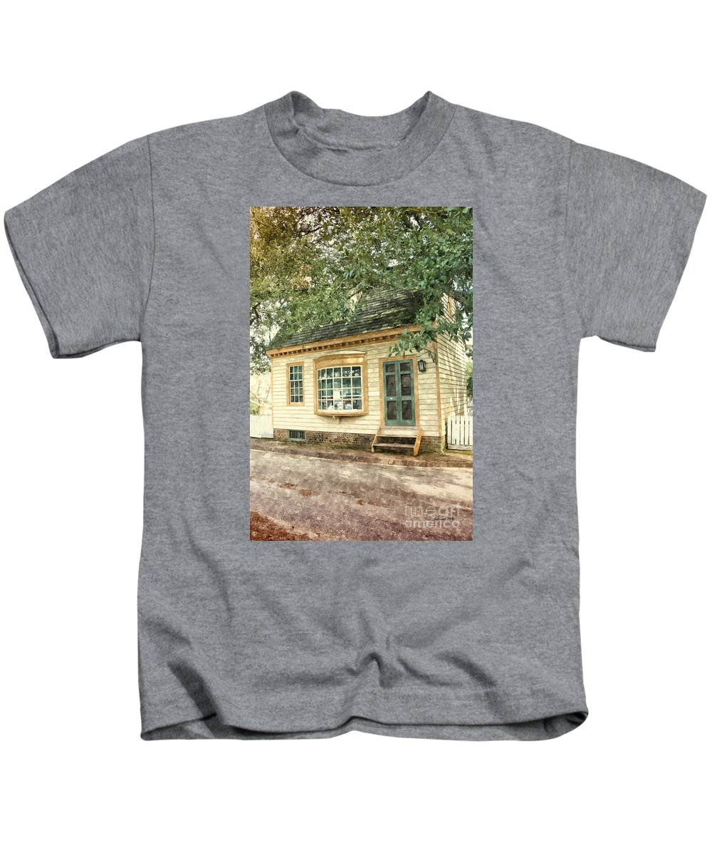 potters House Kids T-Shirt featuring the painting Potter's House by Shari Nees