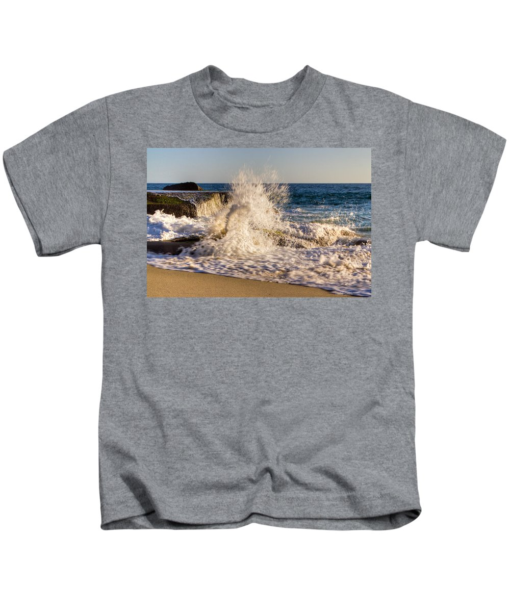 Bay Kids T-Shirt featuring the photograph Power by Heidi Smith