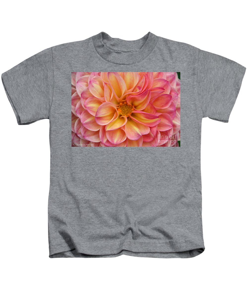 Flower Kids T-Shirt featuring the photograph Pure Pastels by Susan Herber