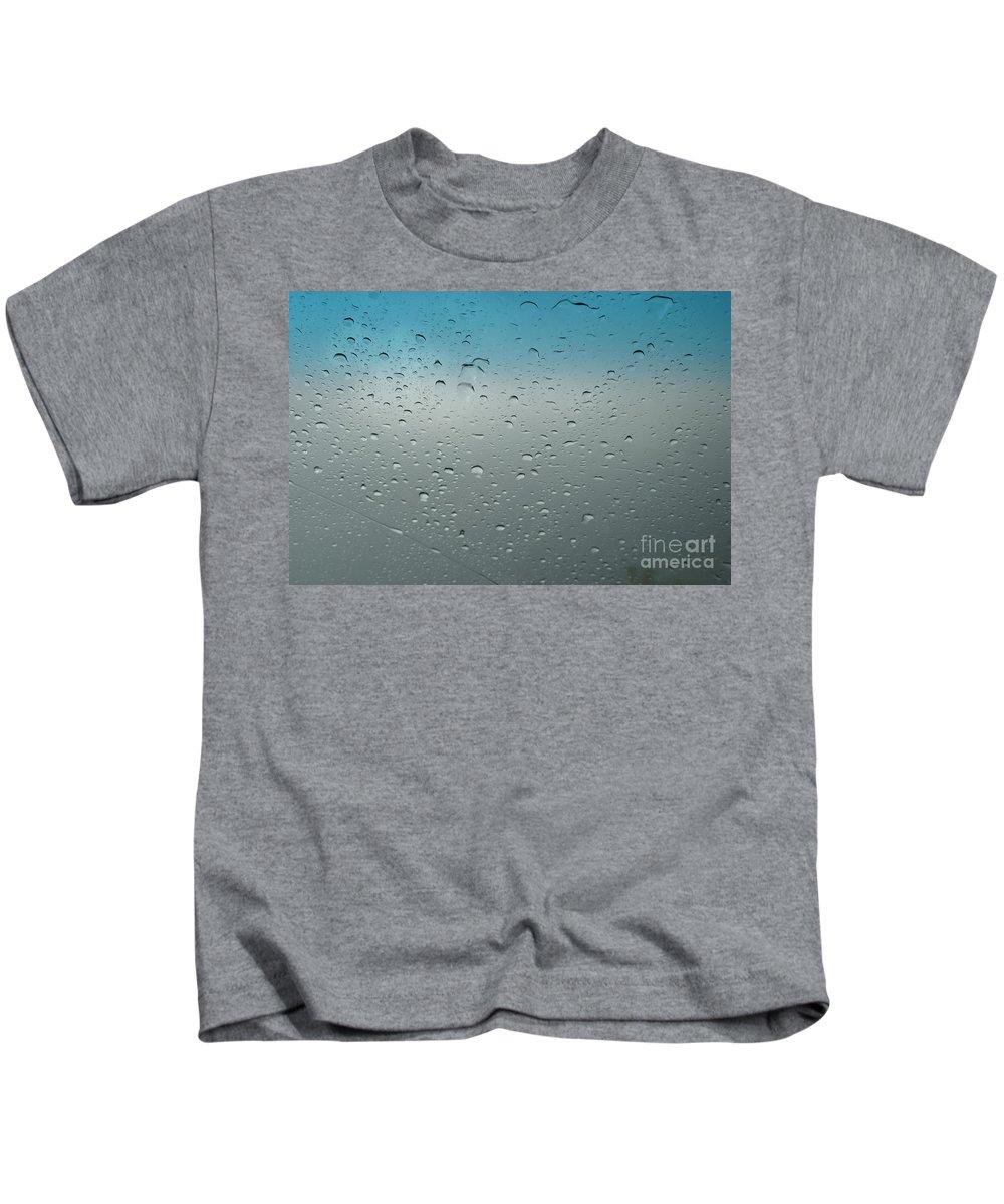 Rain Kids T-Shirt featuring the photograph Rain by Isaiah Rambes