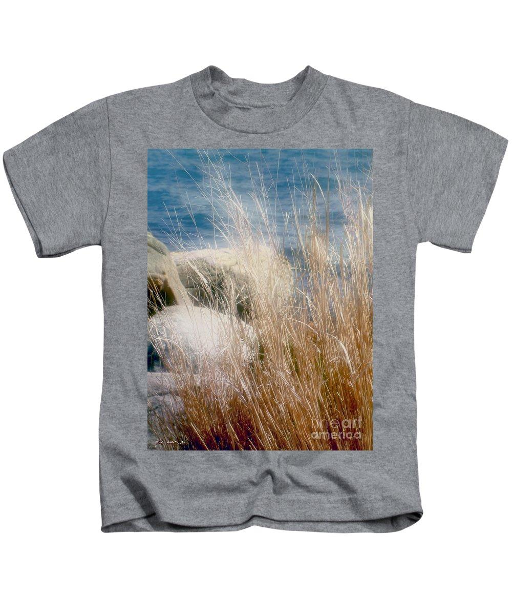 Reeds Kids T-Shirt featuring the photograph Rapunzel Reeds by RC DeWinter
