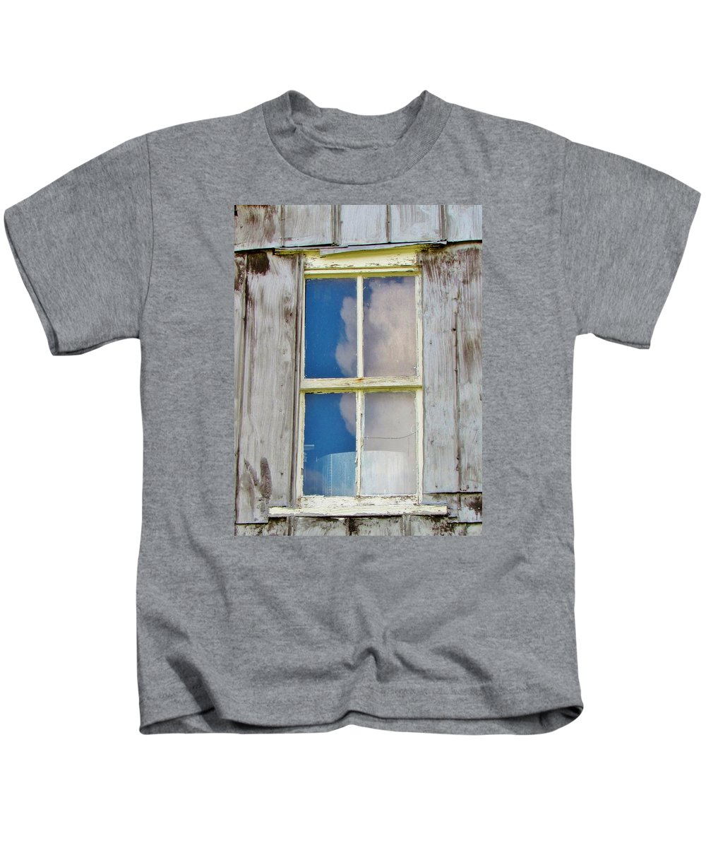 Reflection Kids T-Shirt featuring the photograph Reflection Of The Sky by Cynthia Guinn