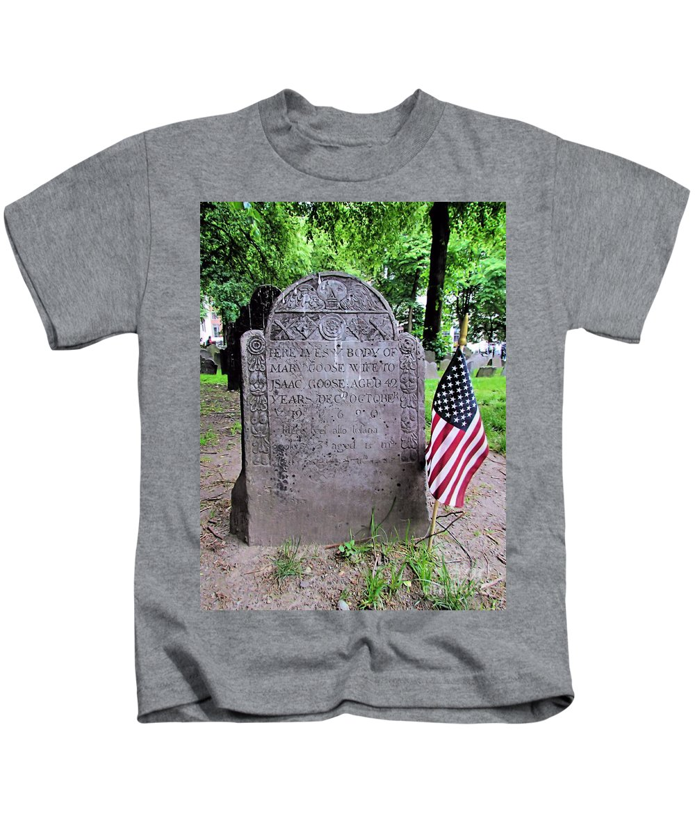 Mary Goose Kids T-Shirt featuring the photograph Rip Mary Goose by Elizabeth Dow