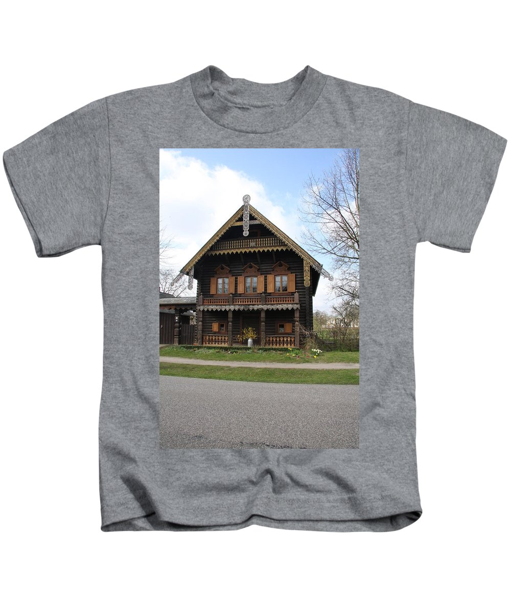 Village Kids T-Shirt featuring the photograph Russian Village - Potsdam by Christiane Schulze Art And Photography