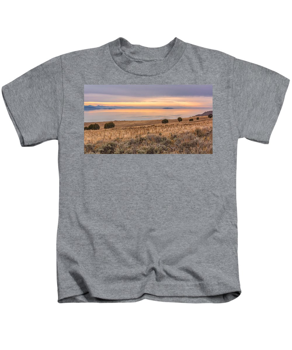 Gigimarie Kids T-Shirt featuring the photograph Sentry Sight by Gina Herbert