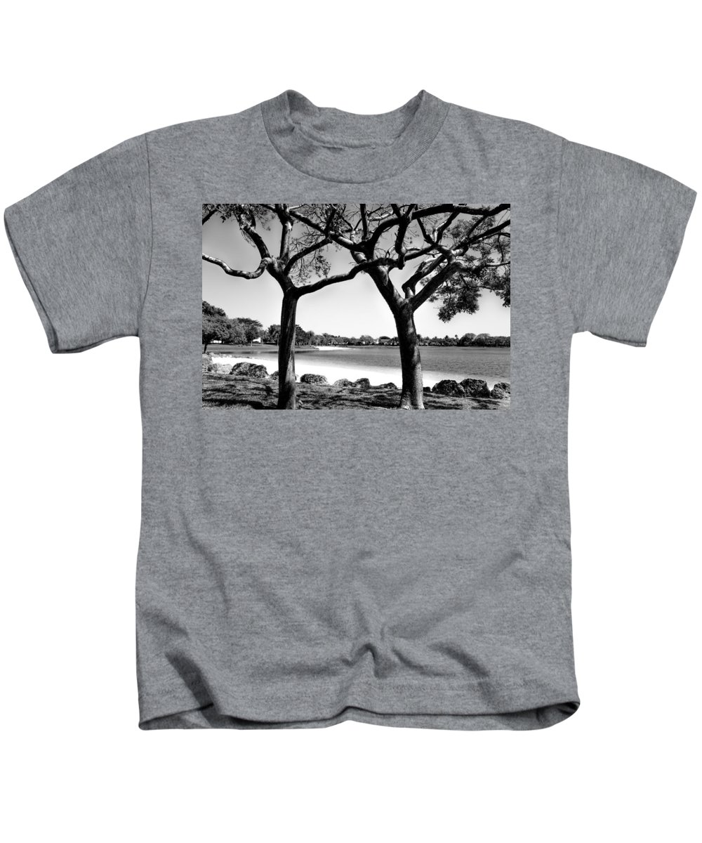 Landscape Kids T-Shirt featuring the photograph Shade by Anja Solum