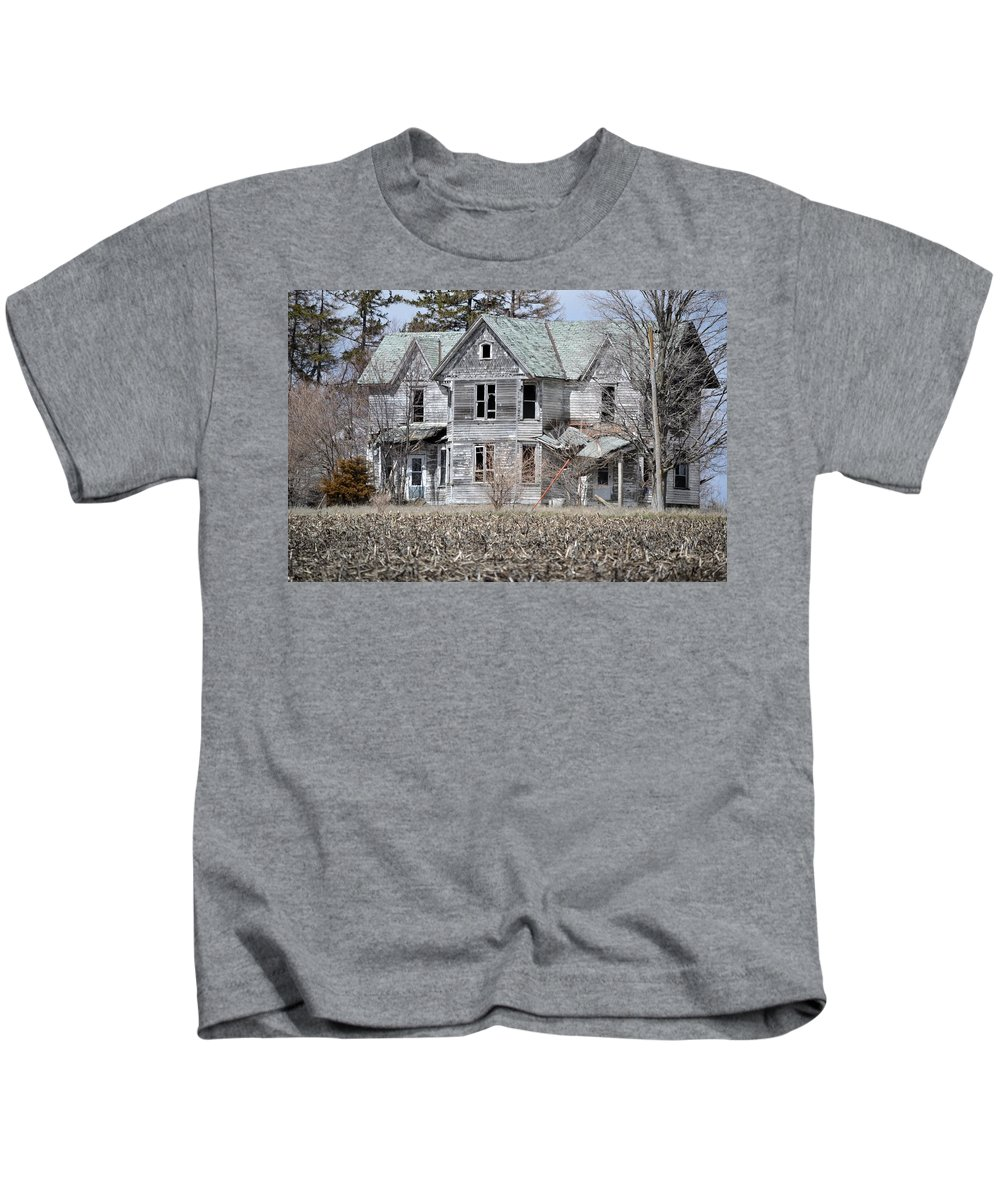 House Kids T-Shirt featuring the photograph Shame by Bonfire Photography