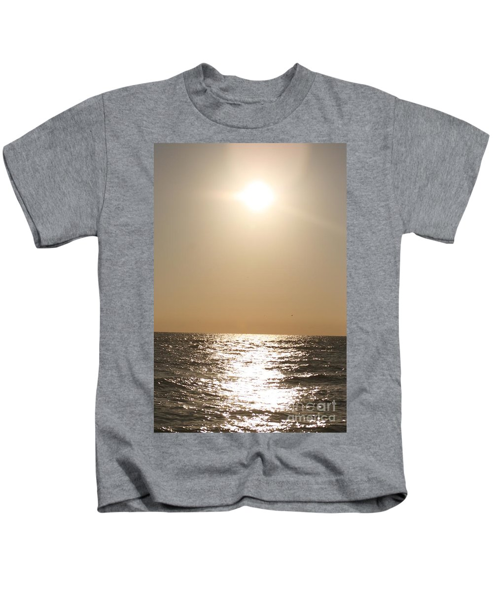 Silver Kids T-Shirt featuring the photograph Silver And Gold by Nadine Rippelmeyer