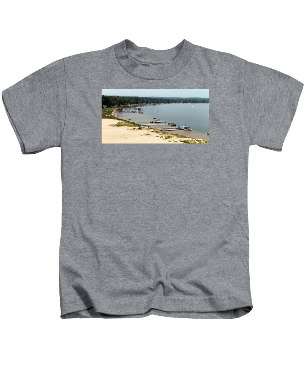 Silver Lake Kids T-Shirt featuring the photograph Silver Lake Michigan by Wendy Gertz