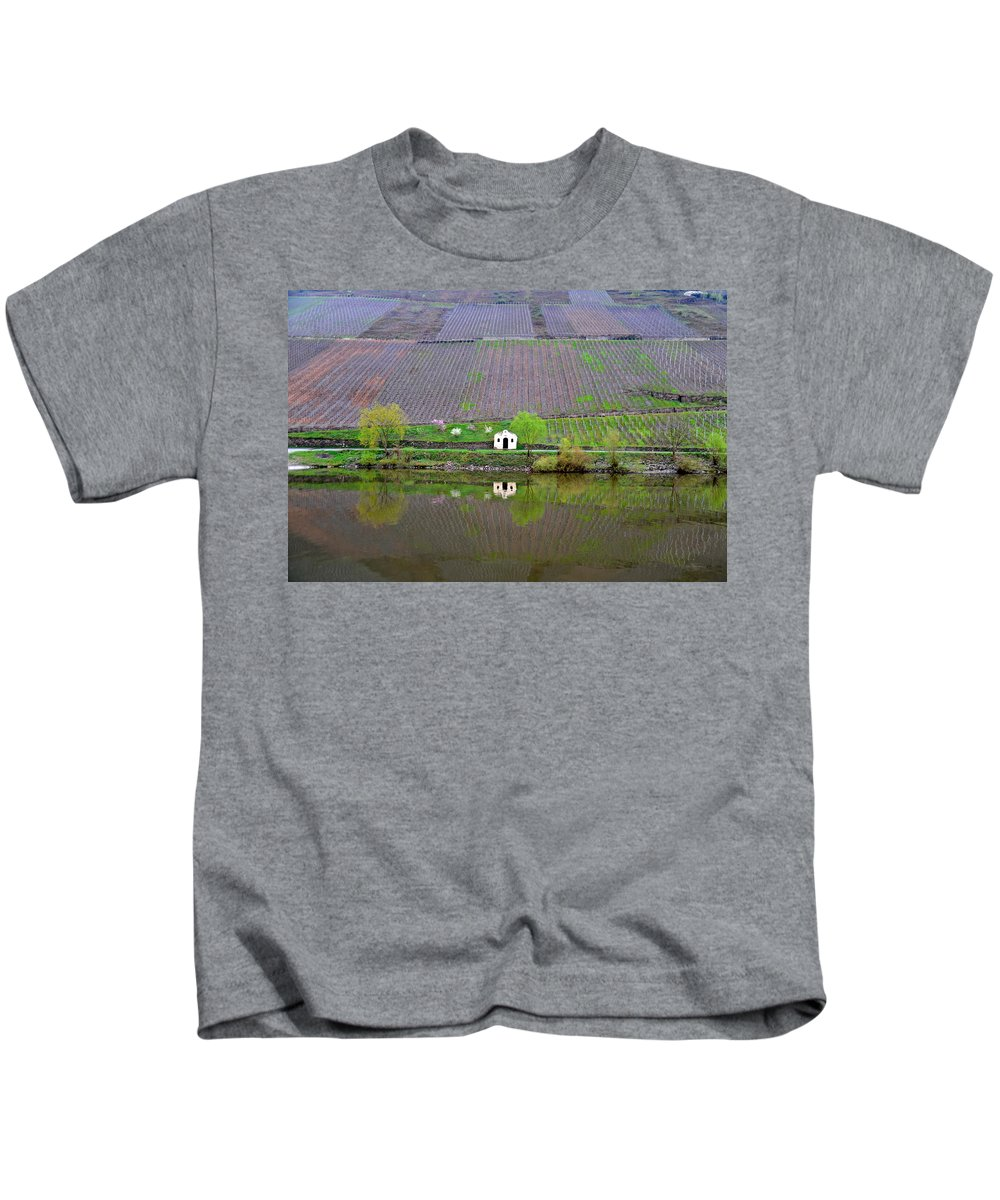 Germany Kids T-Shirt featuring the photograph Solitary by Richard Gehlbach