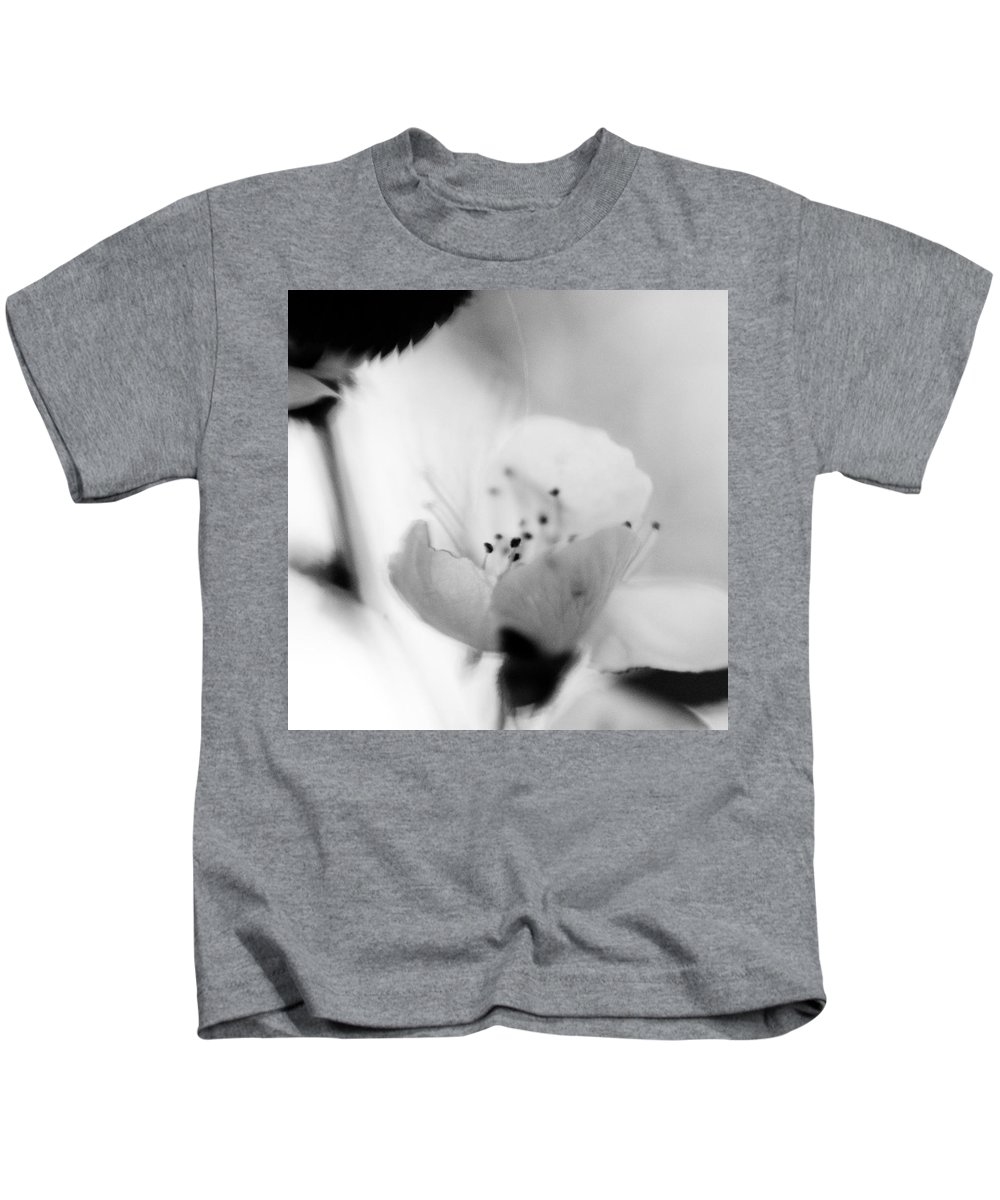 B&w Kids T-Shirt featuring the photograph Spring Blooms 0189 by Timothy Bischoff