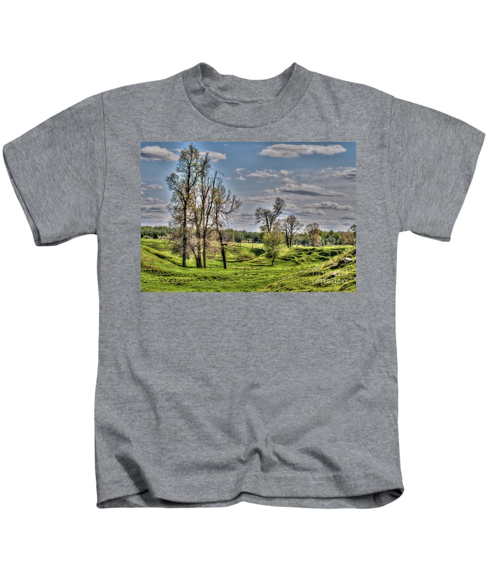 Spring Kids T-Shirt featuring the photograph Spring Valley by Bianca Nadeau
