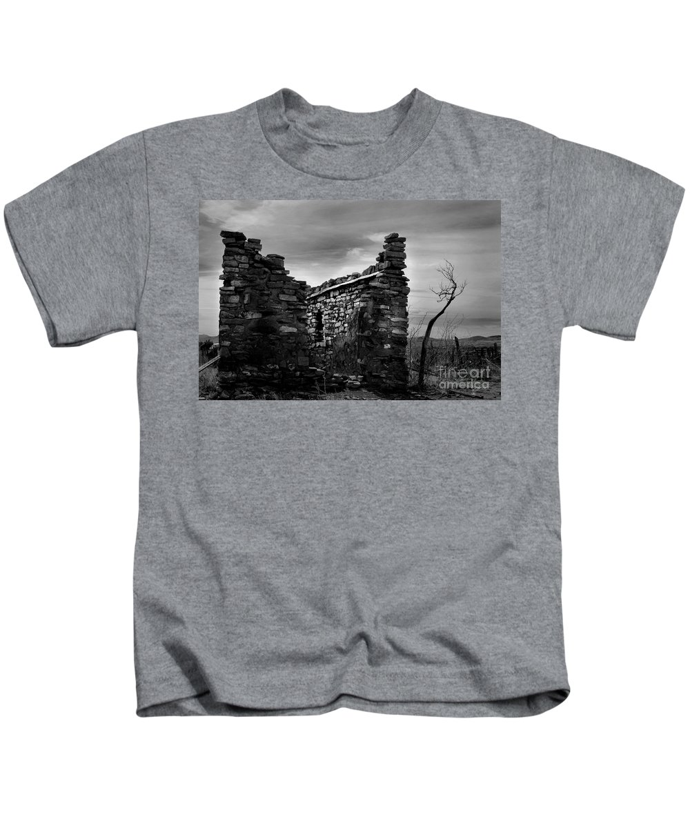 Photograph Kids T-Shirt featuring the photograph Standing In Silence by Vicki Pelham