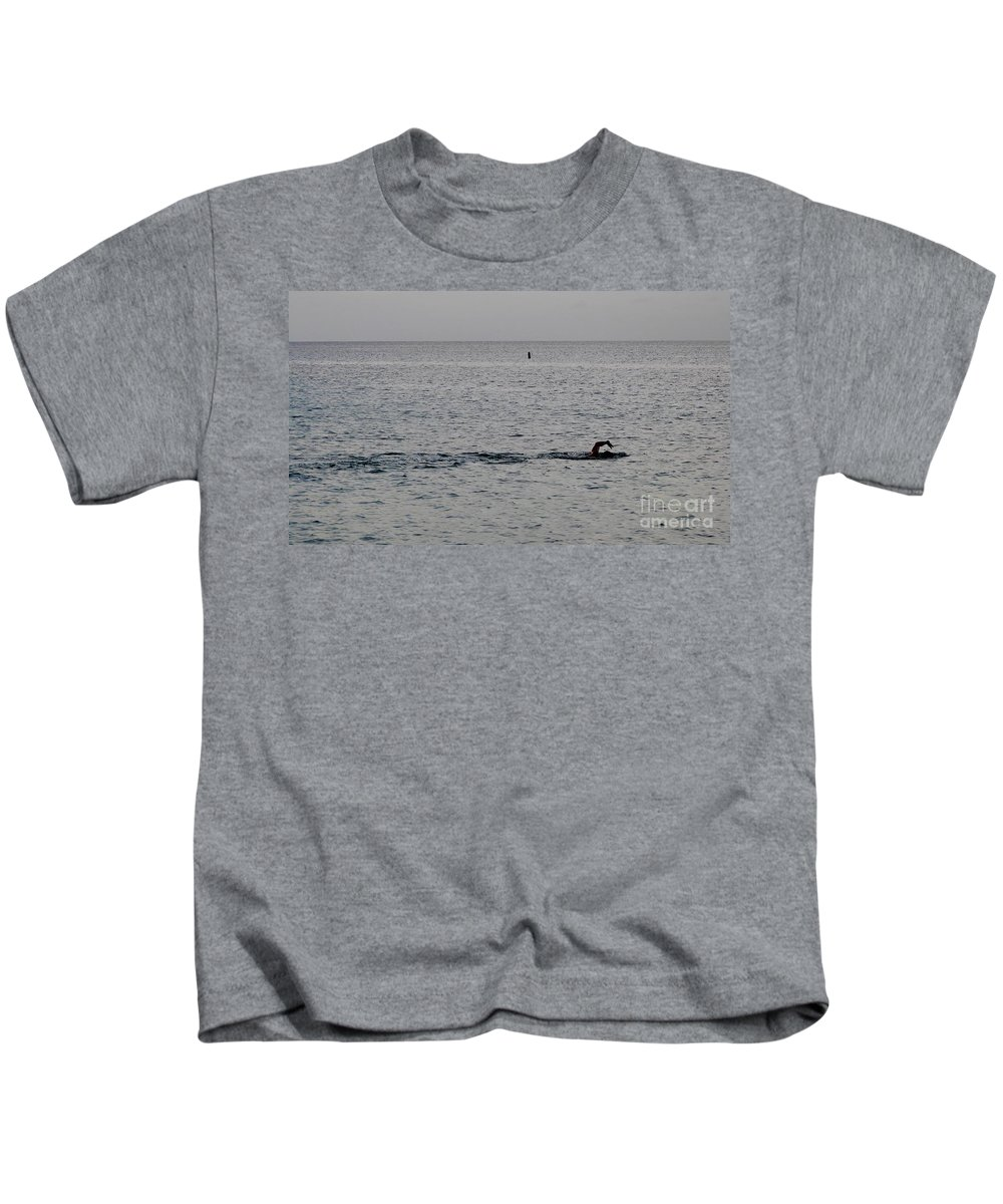 Color Kids T-Shirt featuring the photograph Stroke by Amar Sheow