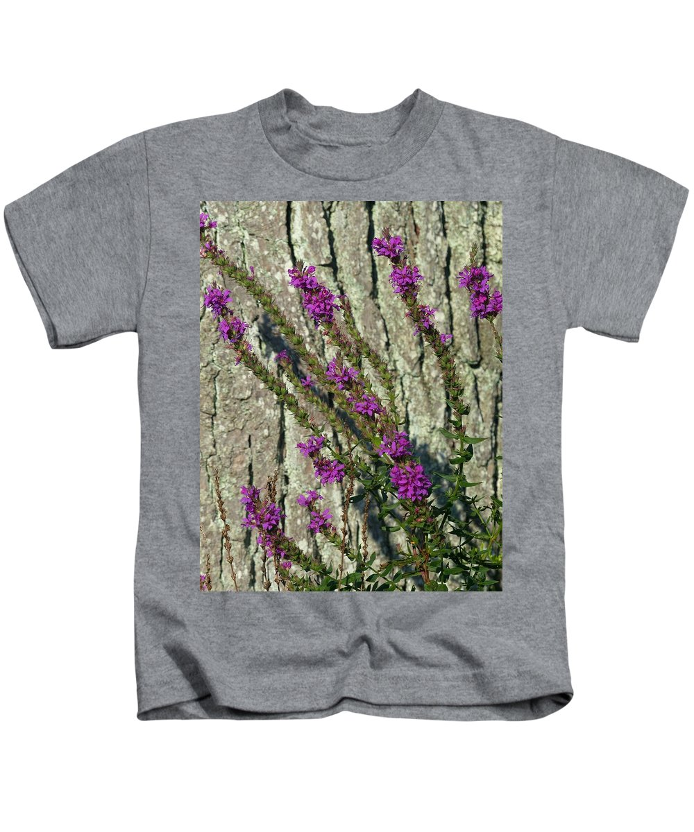 Outdoors Kids T-Shirt featuring the photograph Summer Bloom 2 by Charles Ford