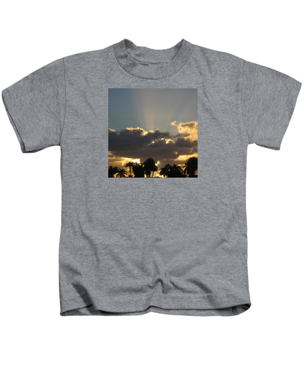 Sunrise Kids T-Shirt featuring the photograph Sunrise by Janet K Wilcox