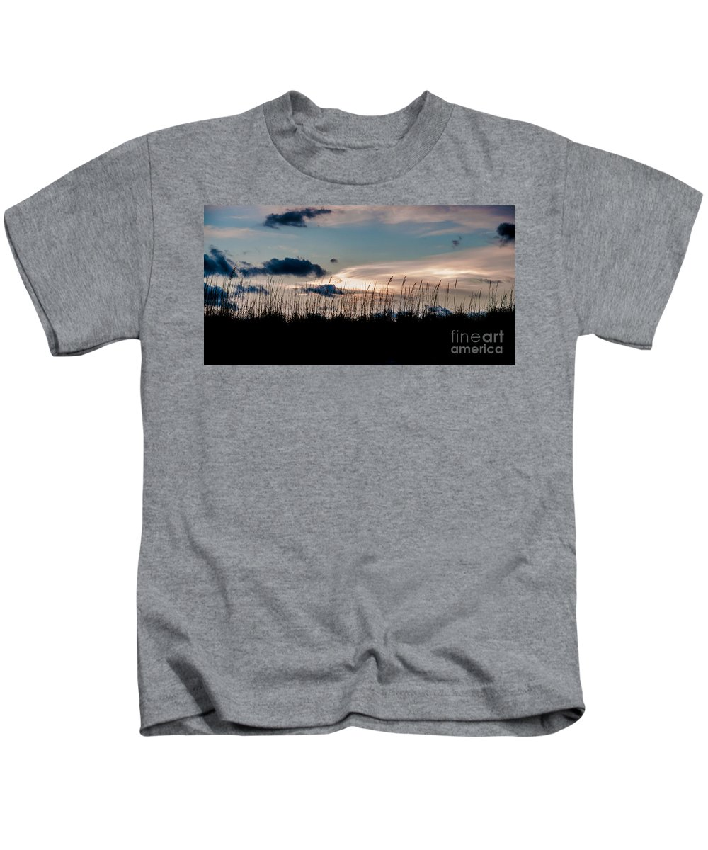 Pier 60 Kids T-Shirt featuring the photograph Sunset In Florida by Amel Dizdarevic