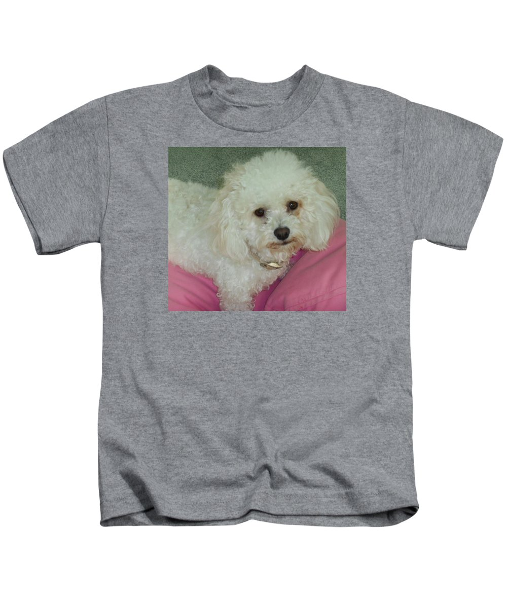 Dog Kids T-Shirt featuring the photograph The Bella by Jessica Ristau