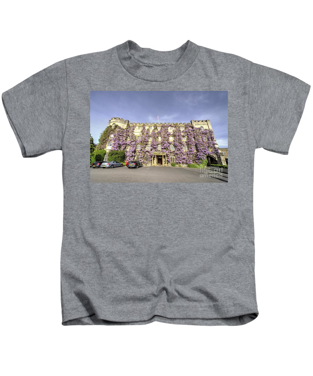 Castle Kids T-Shirt featuring the photograph The Castle Hotel by Rob Hawkins
