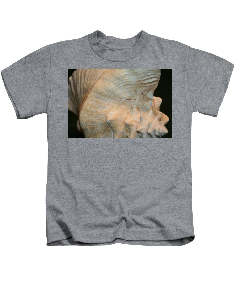 Conch Kids T-Shirt featuring the photograph The Conch by Barbara S Nickerson