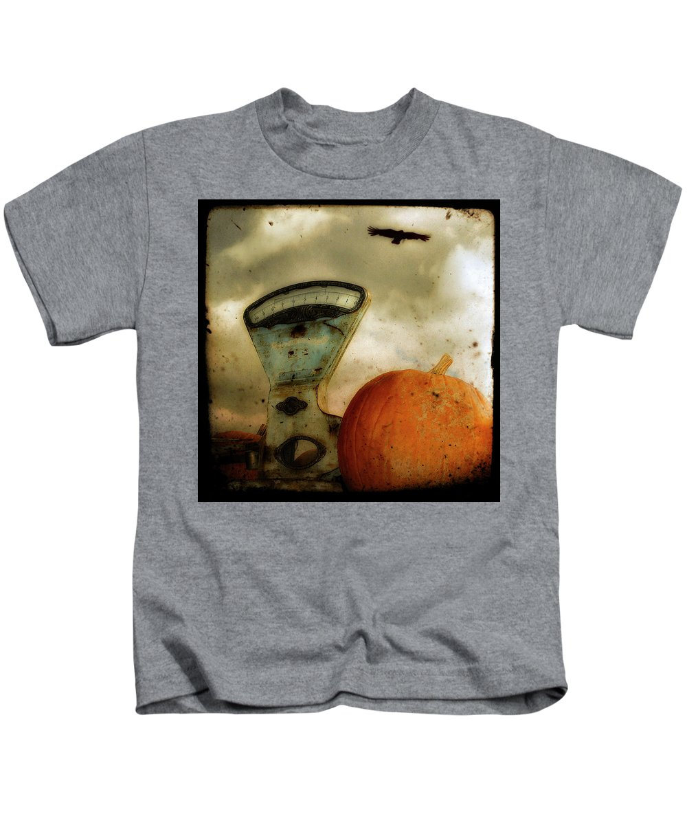 Scale Kids T-Shirt featuring the photograph Gothic Spice by Gothicrow Images
