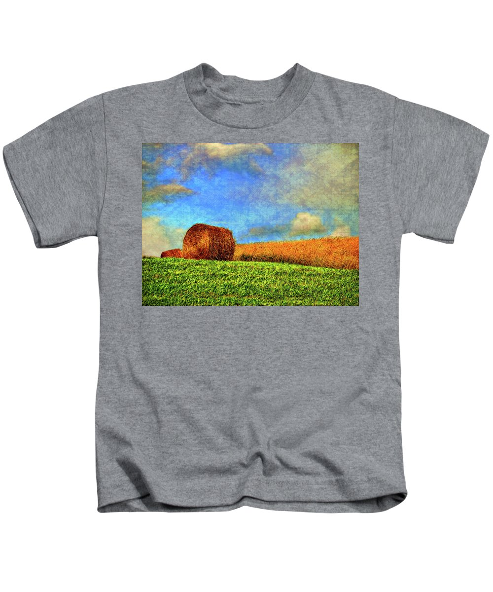 Autumn Kids T-Shirt featuring the photograph The Textures Of Autumn by Steve Harrington