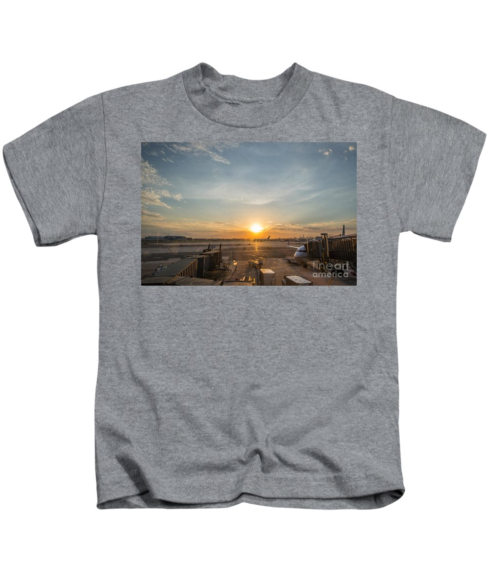 The Traveler Kids T-Shirt featuring the photograph The Traveler by Michael Ver Sprill