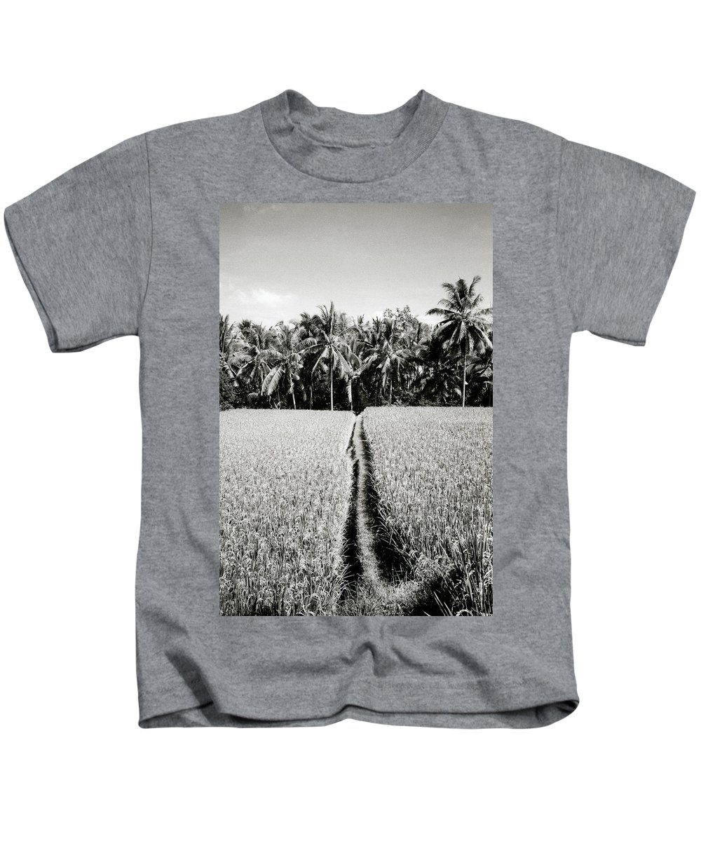 Solitude Kids T-Shirt featuring the photograph The Way by Shaun Higson