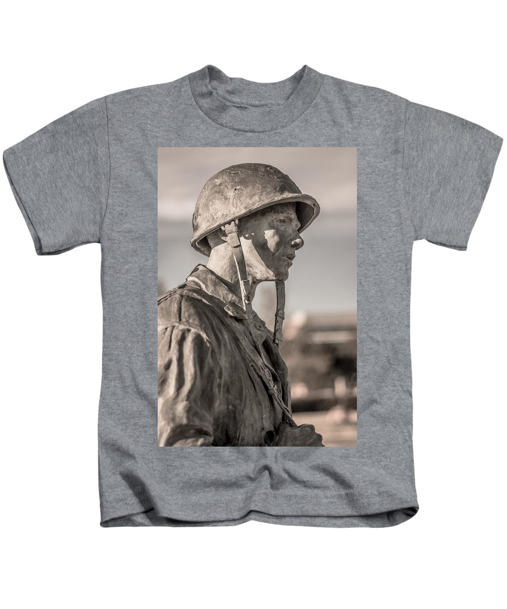 Florida Kids T-Shirt featuring the photograph Thinking Of Life by Jon Cody