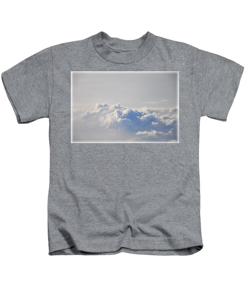 Up Kids T-Shirt featuring the photograph Up In The Clouds by Bill Cannon