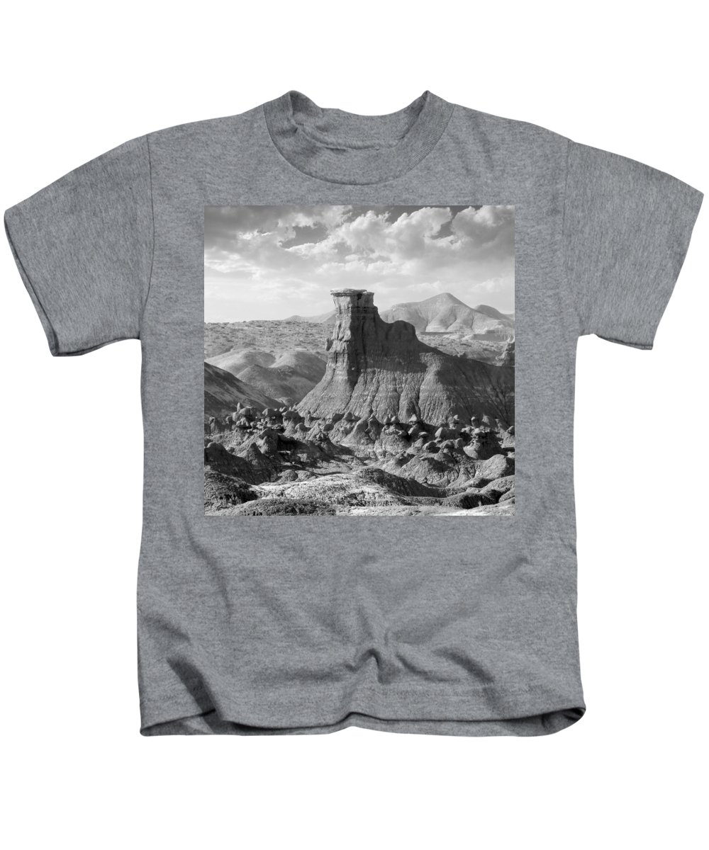 Landscape Kids T-Shirt featuring the photograph Utah Outback 18 by Mike McGlothlen