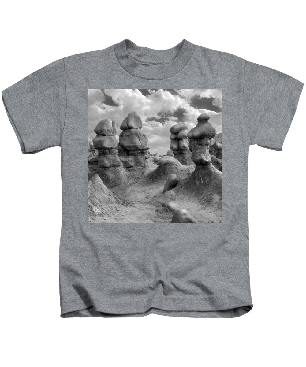 Utah Kids T-Shirt featuring the photograph Utah Outback 23 by Mike McGlothlen