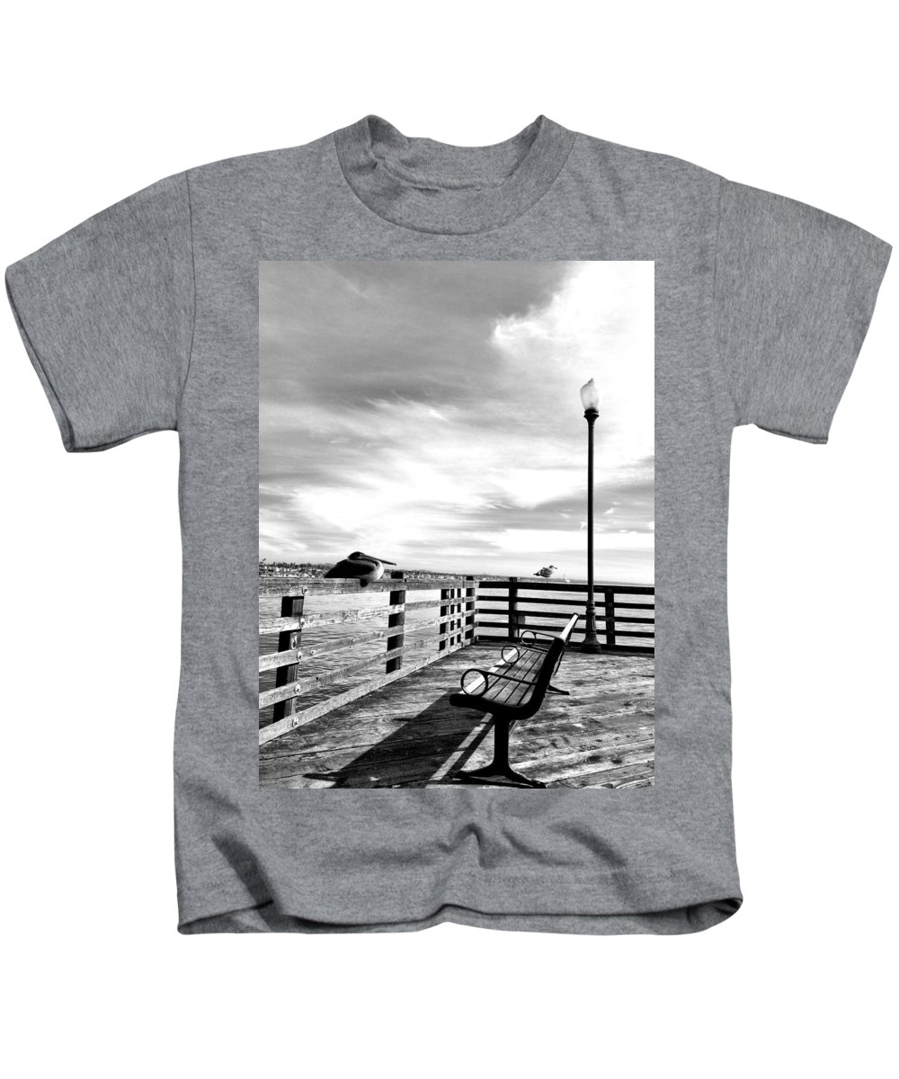Oceanside Kids T-Shirt featuring the photograph Vacancy by Allissa Thompson
