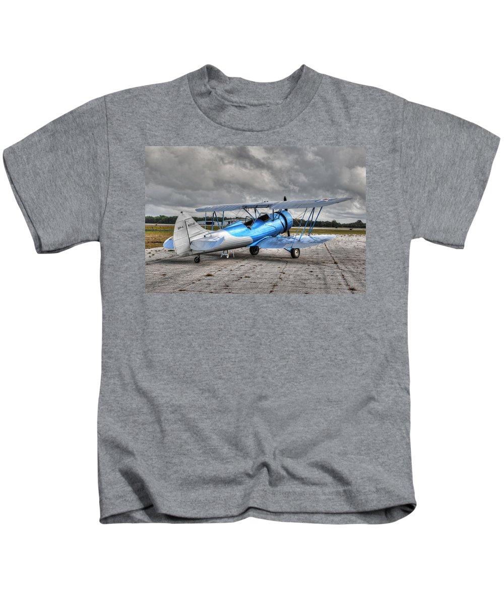 Waco Kids T-Shirt featuring the photograph Waco 2 by David Hart
