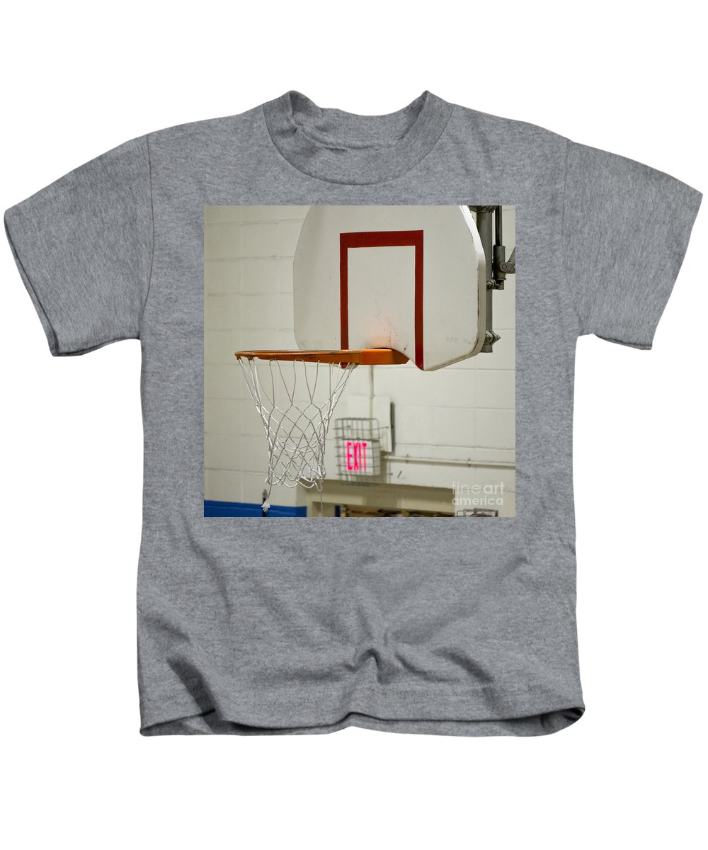 Cherokee Kids T-Shirt featuring the photograph Waiting For The Ball by Steven Ralser