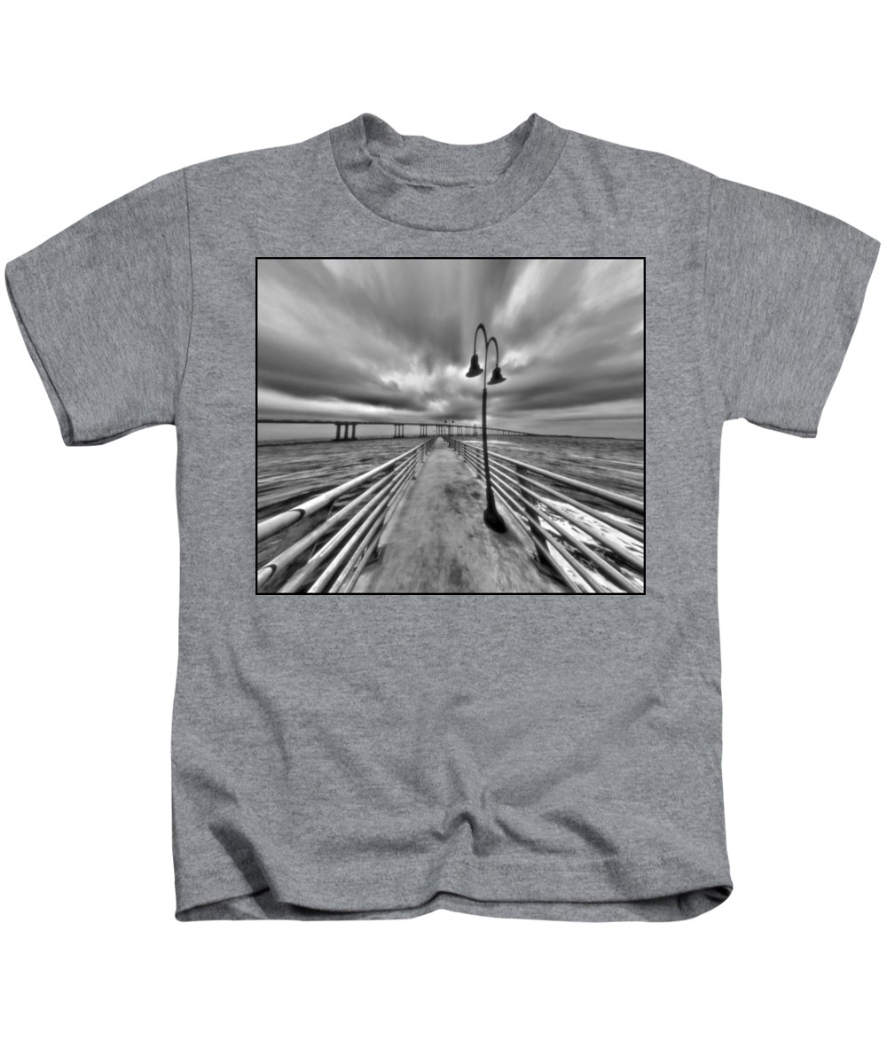 Walk With Me Kids T-Shirt featuring the photograph Walk With Me by Dan Sproul