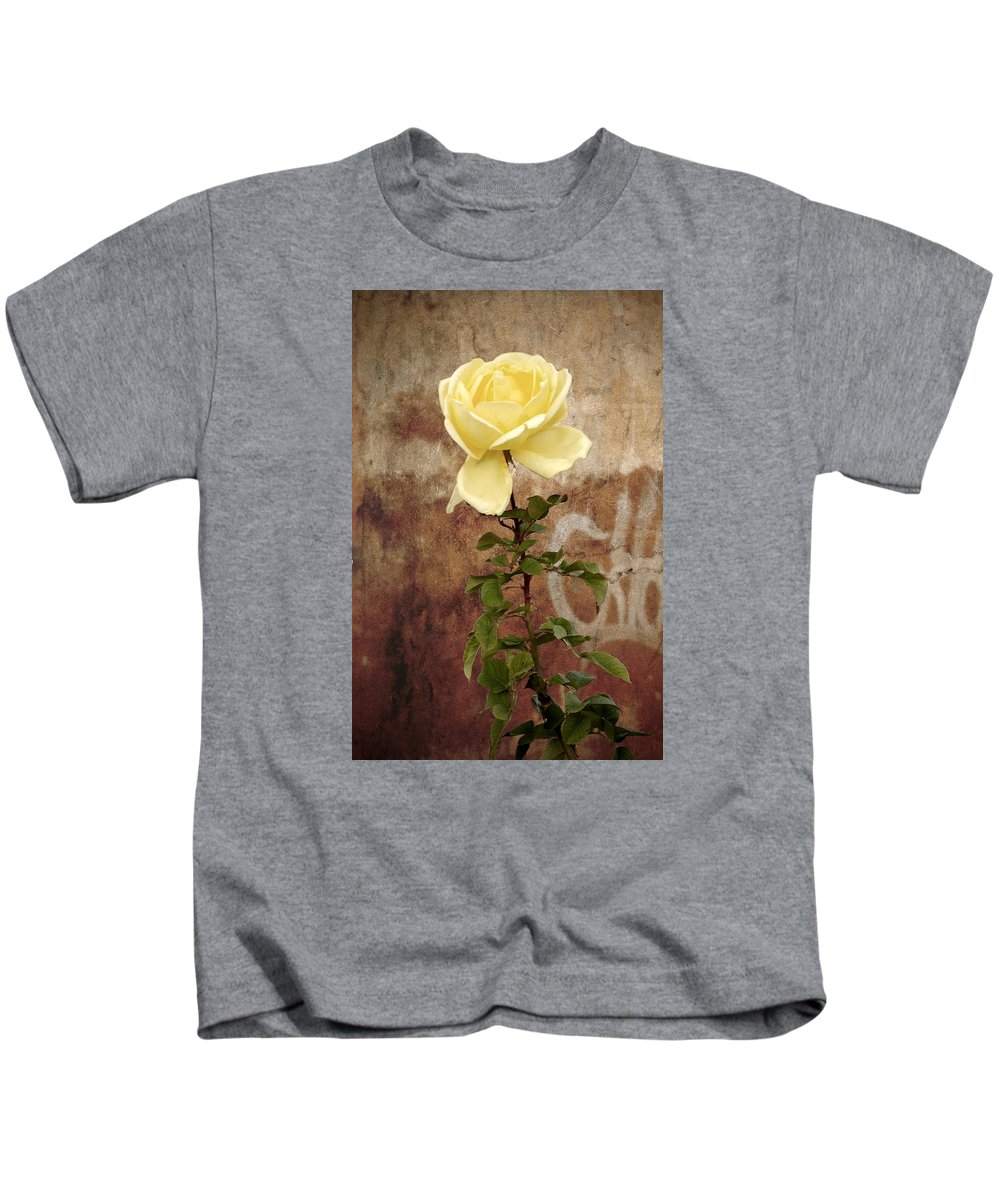 Rose Kids T-Shirt featuring the photograph Winter Rose by RicardMN Photography