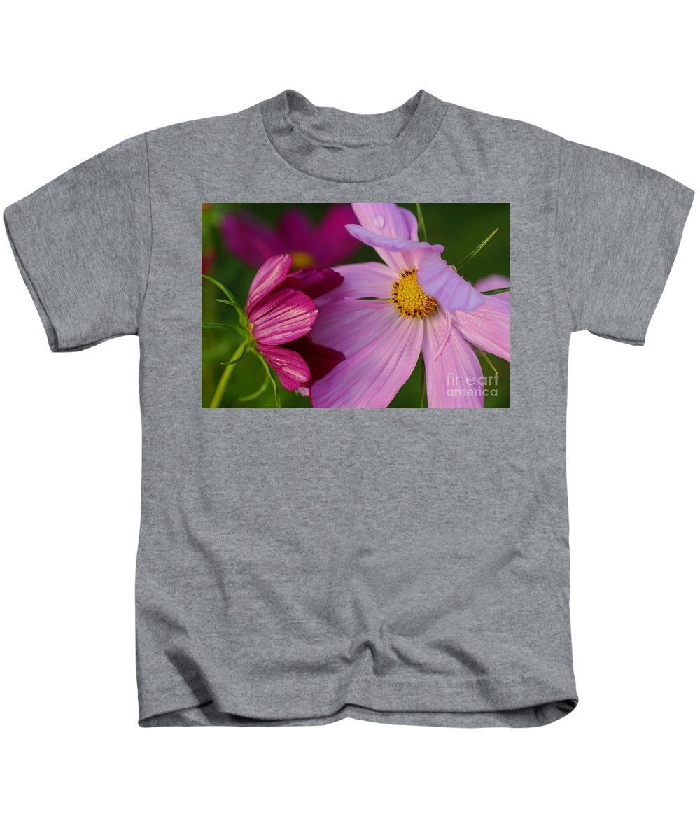 Flowers Kids T-Shirt featuring the photograph You Can Lean On Me by Jeffery L Bowers